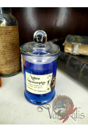 Bougie Philtre Polymorphis façon apothicaire