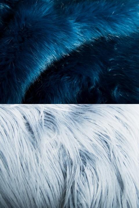 Bleu/azur